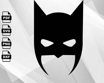 Batman Logo SVG VECTOR Clipart Svg Files Cricutfiles Printing Design Png Pdf DXF Insta Download