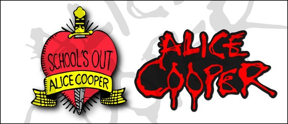 Alice Cooper, School's Out, Svg  Vector format, plus Ai, DXF