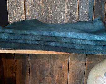 PORTSMOUTH HARBOR 1/4 yd Hand-Dyed Wool - 100% Premium Wool