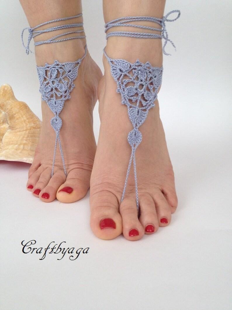 c36792c33170 Crochet Barefoot SandalsBarefoot sandalsBeach Wedding