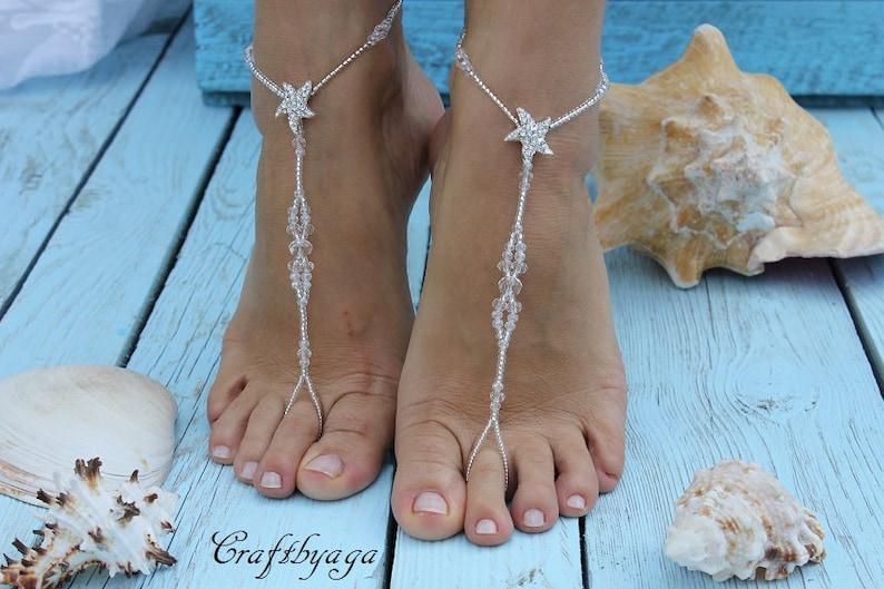 1c27fccba35f3a Barefoot sandalsBermuda Beach wedding barefoot