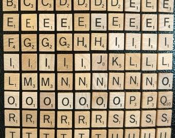 10x Letters for £1.99 MAGNETIC SCRABBLE LETTERS TILES see description