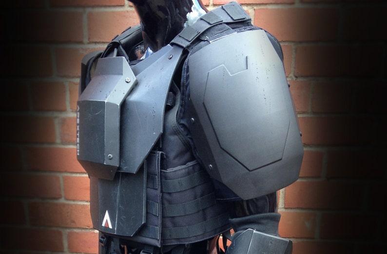 Apex Mk3 Sci-fi Armour Shoulders