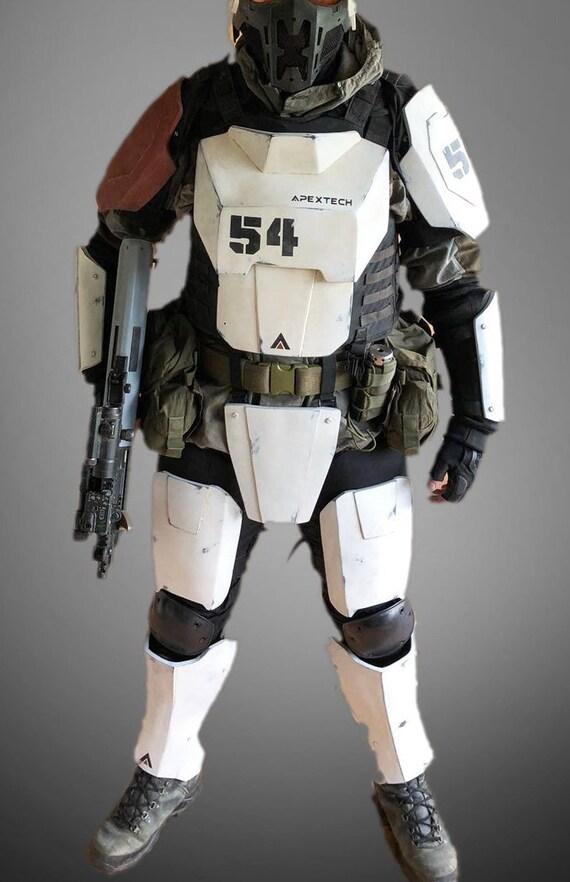 Armure Futuriste apex armure mk3 plein costume science-fiction futuriste / | etsy