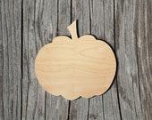 Pumpkin - Multiple Sizes - Laser Cut Unfinished Wood Cutout Shapes