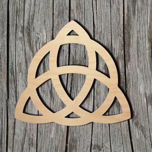 Celtic Knot - Multiple Sizes - Laser Cut Unfinished Wood Cutout Shapes