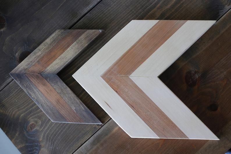 incredible Chevron Wall Art Part - 6: Chevron Wall Art Wall Decor Wooden Wall Art Wood Chevron | Etsy