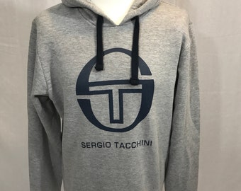 3f40b476a30 Sergio Tacchini hoodie vintage in perfect condition size XL gray from  Gotbeefshop