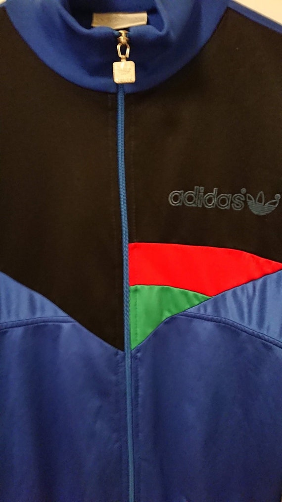 multicolor adidas tracksuit vintage rare