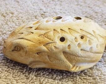 Ocarina Horned Toad  Four Hole Flute,