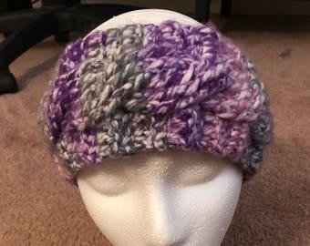 Cable Stitch Crochet Headband