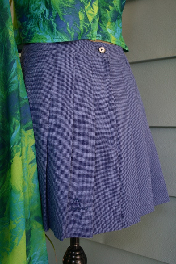 Green and black sheer slip dress. - image 7