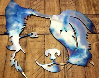 Border Collie Metal Art