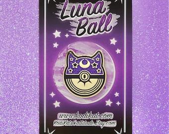 Luna Ball Hard Enamel Pin