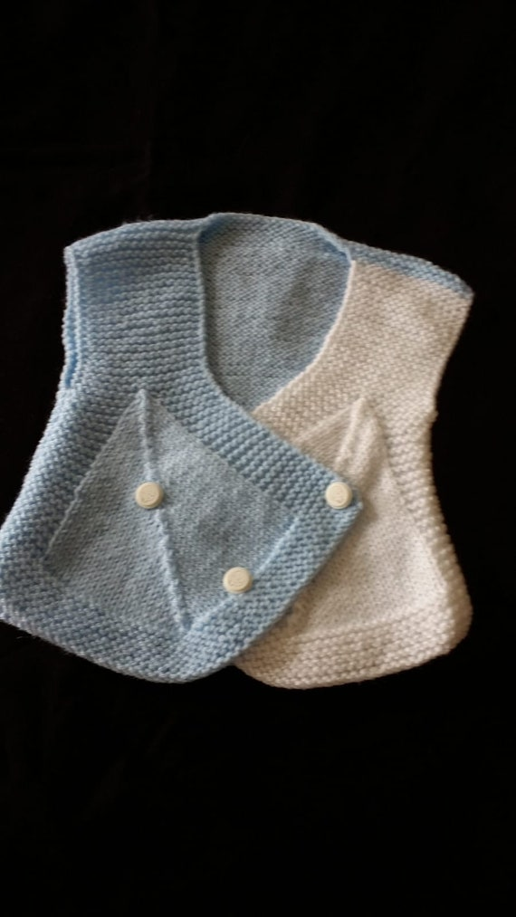 27e87d61c Hand-knit Babies Children s Wool Sweater Vest For 1 Year