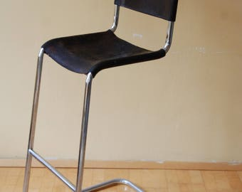 Fabulous Cantilever Bar Stool Etsy Pdpeps Interior Chair Design Pdpepsorg