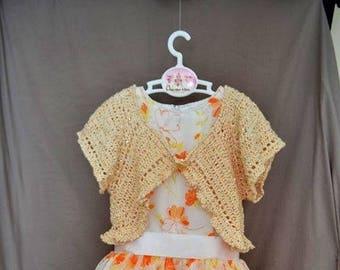 Orange dress with Bolero