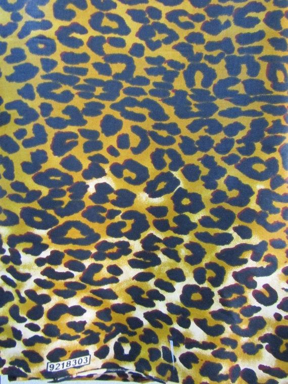 Leopardenstoff bedruckt Stoff afrikanischen Stoff | Etsy