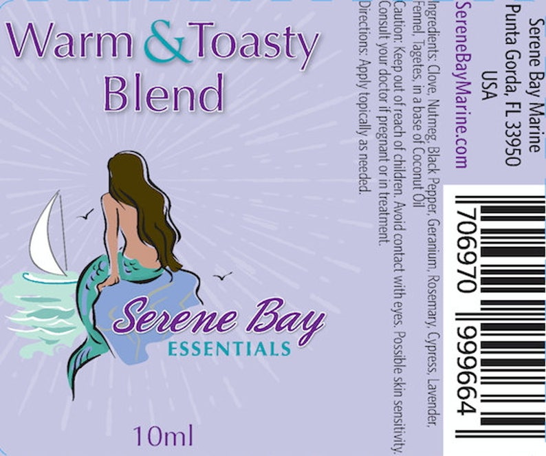Warm & Toasty Blend of Essential Oils  Warm Even the Coldest image 0