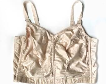a011669f4e848 Vintage Princess Bali Blush Bow Bra 40C