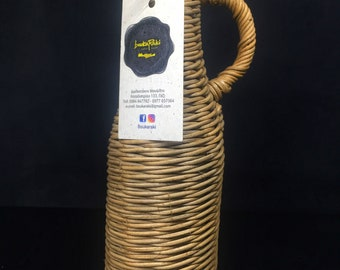 Wicker bottle 750ml