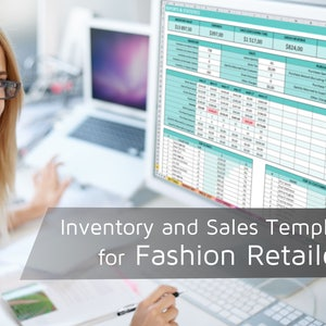 fashion retailers inventory and sales template retailer bookkeeping spreadsheet inventory tracking expenses orders reports