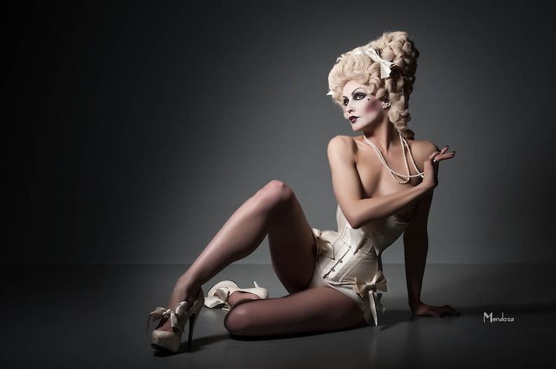 tummy control. body sculpting Fine Silk Dupion Wedding Underbust corset tight lacing
