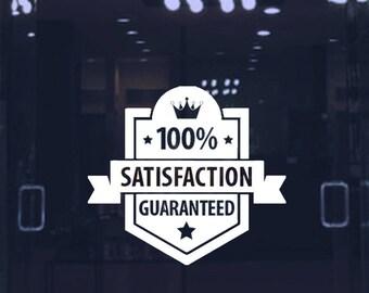 store best price decal-business guarantee sticker-door & window sign-store front vinyl lettering