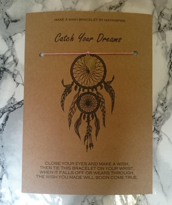 Dream Catcher Make A Wish Bracelet Catch Your Dreams