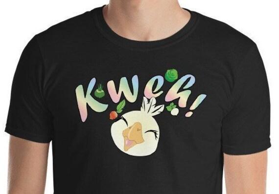 Chocobo Kweh Shirt Fat Chocobo Chocobo Shirt Chocobo Art Final Fantasy Gamer Gift Ff15 Xv Final Fantasy 7 Final Fantasy Vii Ffvii Golden