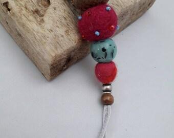 Berried Treasure berry-beaded necklace