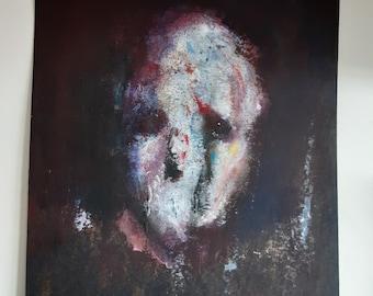 Gothic Contemporary Dark Art - portrait painting