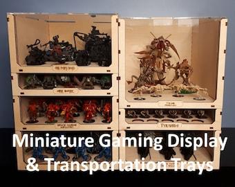 Miniature Storage and Transportation Trays