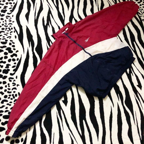 Rare Vintage 90s Reebok Colourway Windbreaker