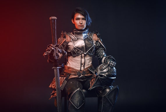 Inquisitor Armor From Dragon Age Inquisition Dai Props Cosplay Etsy Inquisition raven armor / броня ворона. inquisitor armor from dragon age inquisition dai props cosplay costume