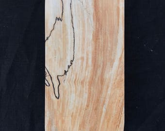 Good Tree Fine Wares Spalted Maple Cutting Board 10 x 6