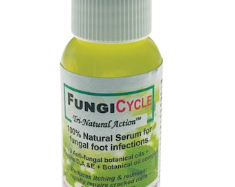 100% Natural Fungal foot serum| vitamin d enriched | anti-fungal | toe nail fungus | athlete's foot | tea tree thyme oregano oil