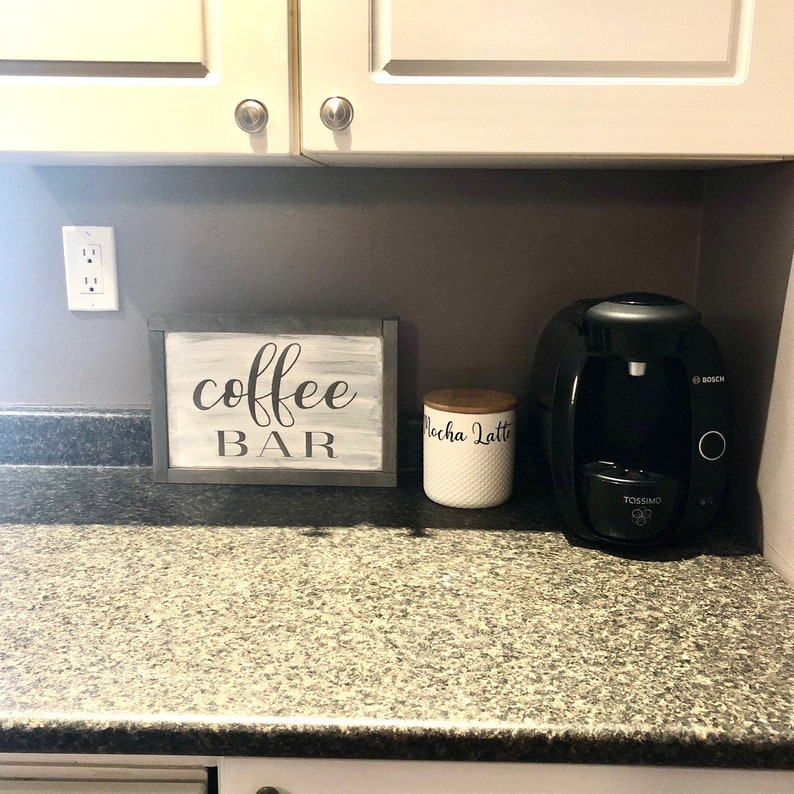 Farmhouse Wood Sign Coffee Sign Rustic Sign Wood Decor Kitchen Sign Coffee Bar
