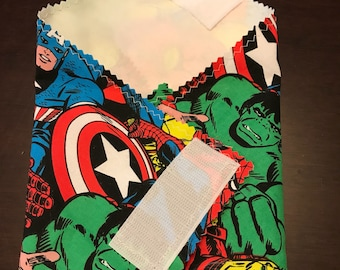 Avengers reusable sandwich wrap