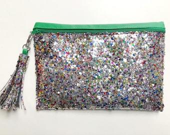 Carnivale Glitter Clutch - Small