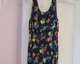 Nursing Dress Merona Floral Maxi Dress Size XL