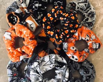 Halloween Scrunchies / Holiday Scrunchies