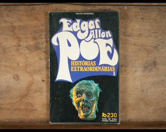 Edgar ALLAN POE / Historias saw / bolso supplied europa-america / vintage