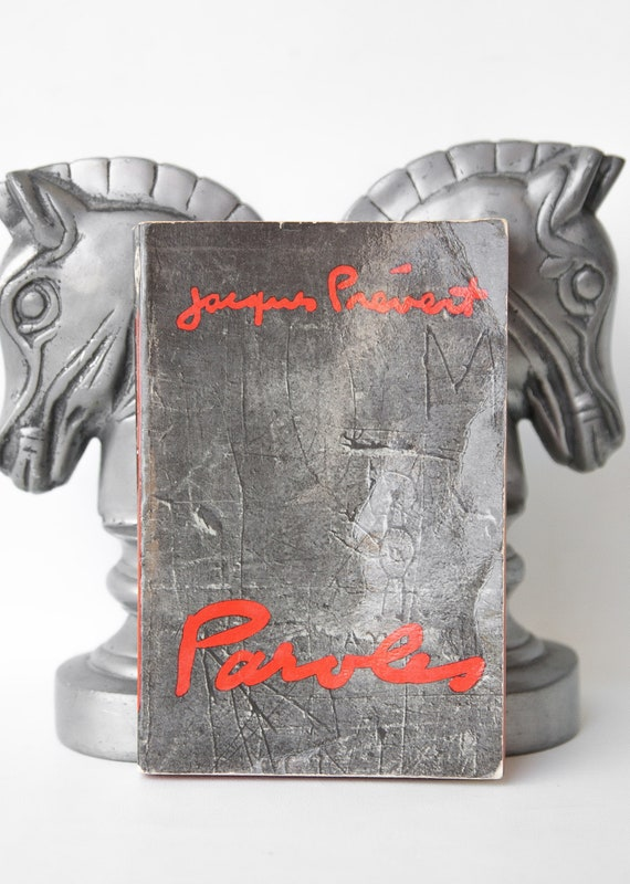 Jacques Prevert Lyrics Poesie Gedichte Der Punkt Des Tages 1966 Vintage Buch