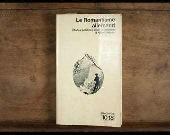 The German romance, Library 10/18, Albert crush, 1966, French, vintage