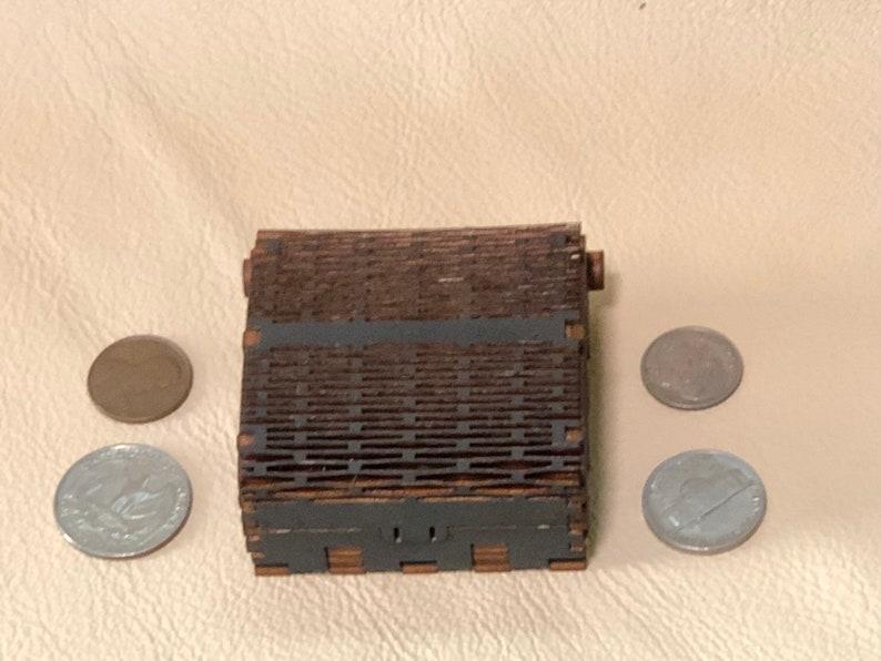 Small Wooden Laser Cut Trinket Box