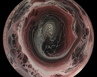 Tilted Gas Giant - Uranus in Reds
