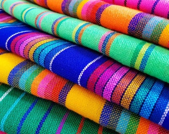 Traditional colorful Mexican fabric   Mexican Fiesta decor fabric   Cinco  de mayo decoration   colorful mexican table cloth  crafting fabric 7dbbd080f2