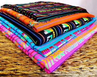 Traditional colorful Mexican fabric   Mexican Fiesta decor fabric   Cinco  de mayo decoration   colorful mexican table cloth   mexican craft 920c1ee15c