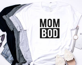 561ab0f9 Mom bod, Mom Life, Mother Hustler, Funny Mom Shirt, Mom Gift, Motherhood  Shirt, Mom Life, Mom Shirt, Shirts For Women, Mother's Day, mom tee